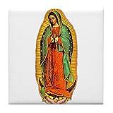 CafePress–Mary–Virgen de Guadalupe–para azulejos posavasos, posavasos de bebida, pequeño salvamanteles
