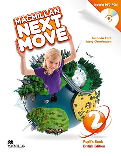 Macmillan Next Move 2: British Edition / Pupil's Book with DVD-ROM