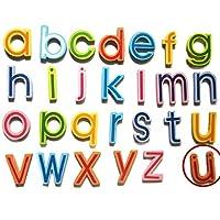 Hupoop  Magnetic Wooden Alphabet Set Set for Kids Children Preschool School