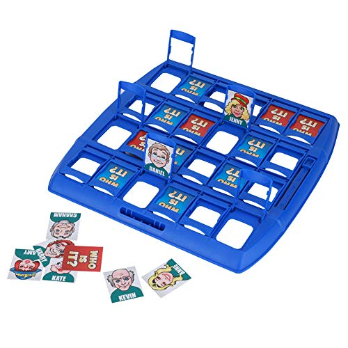 Wer ist es Lustiges Ratespiel Brettspiel Eltern Kind Interaktives Spielzeug Logische Argumentation Desktop Freizeit Spiel Frühkindliche Lernspiel (Spiel Es)