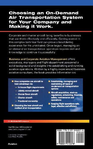 Business and Corporate Aviation Management: On Demand Air Travel