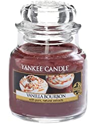 Yankee Candle 1342455E Bougie senteur Vanille Bourbon Rouge