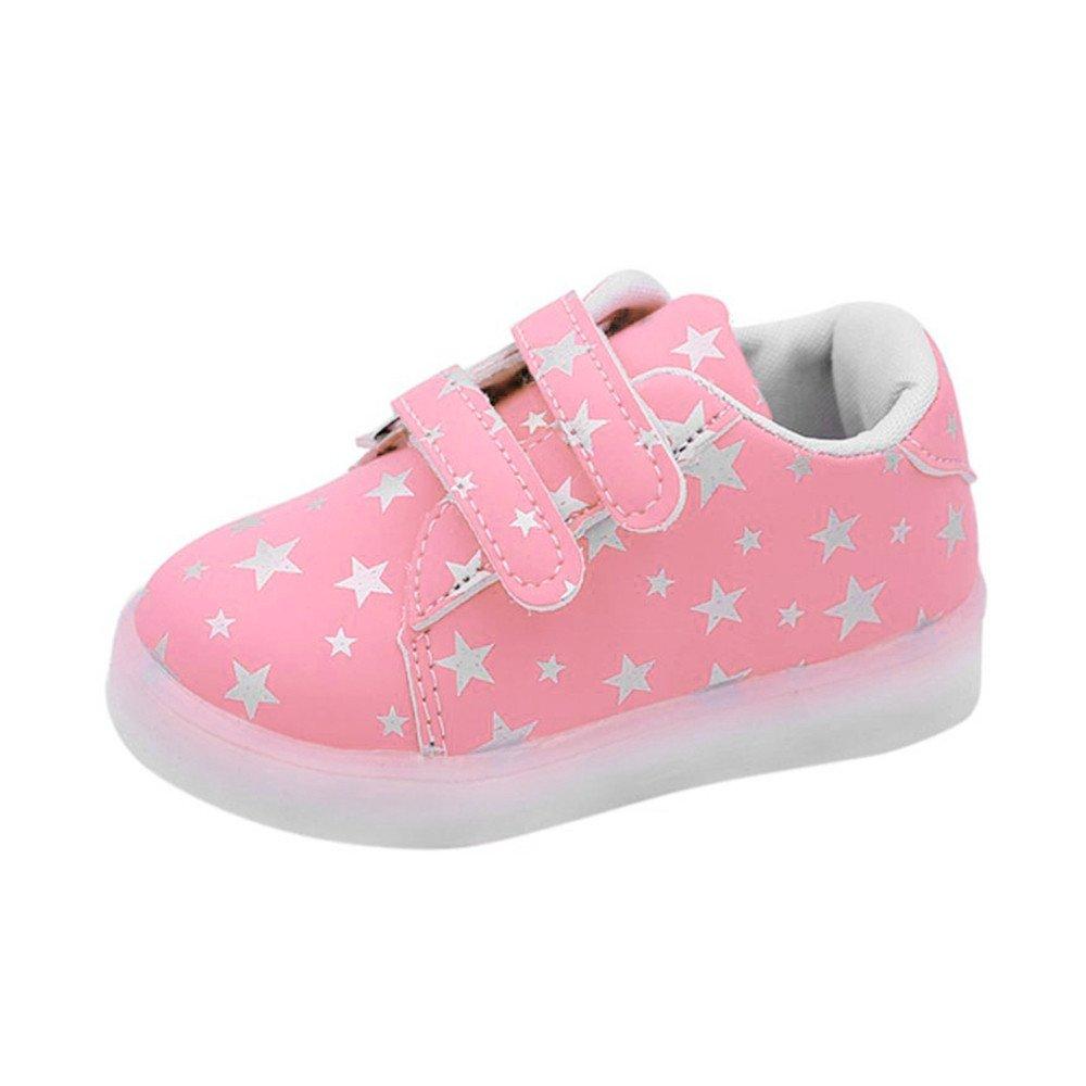 FNKDOR Baby LED Schuhe Kinder, Mädchen Jungen Licht Turnschuhe Leuchtend Blinkschuhe Sportschuhe, 1 6 Jahre life is