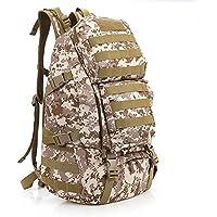Aiyuda Outdoor 20L Zaino Militare Tattico MOLLE 1000d Nylon grande impermeabile Assault Pack per Campeggio Trekking Escursionismo, Uomo, Nomad Desert Camo, 25L - Camo Tactical Paintball