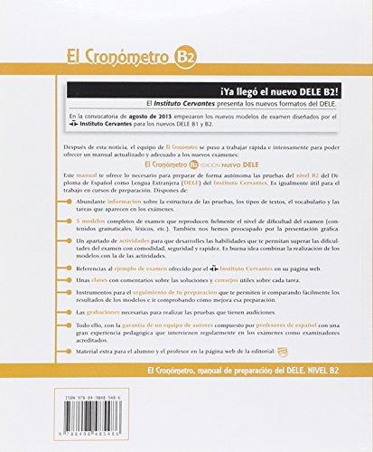 El Cronómetro B2 - Edición Nuevo DELE: Nuevo Dele Book + MP3-CD