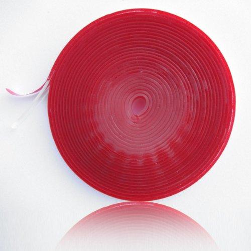 Preisvergleich Produktbild bijon® XXL Silikon Dichtlippe / Kostenloser Versand / Schmutzlippe für Kaminplatte / Glasbodenplatte / Ofenplatte / Bodenplatte / Kaminofenplatte - 5,5m glasklar