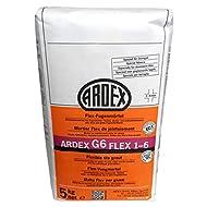 Ardex G6 Flex-Fugenmörtel 12,5 kg silbergrau, 1-6mm lange verarbeitbar