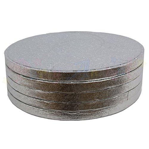 13 en rond à gâteau tambour planches 330 mm x 13 mm (lot de 5)