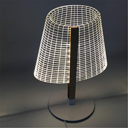 Led Schreibtischlampe, 3D Sphärische Nachtlicht Für Student, Einstellbare Helligkeit Tischlampe Für Studie Schlafzimmer Büro Weihnachtsgeschenk