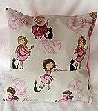 Princess Kissen mit Bio-Hirseschalen Füllung, Geschenk Mädchen, kissen Prinzessin, Märchen, Geschenkidee, Weihnachtsgeschenk Mädchen