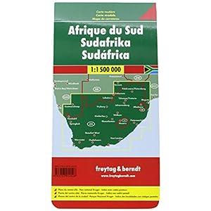 Sudáfrica, mapa de carreteras. Escala 1:1.500.000. Freytag & Berndt. (Auto karte)