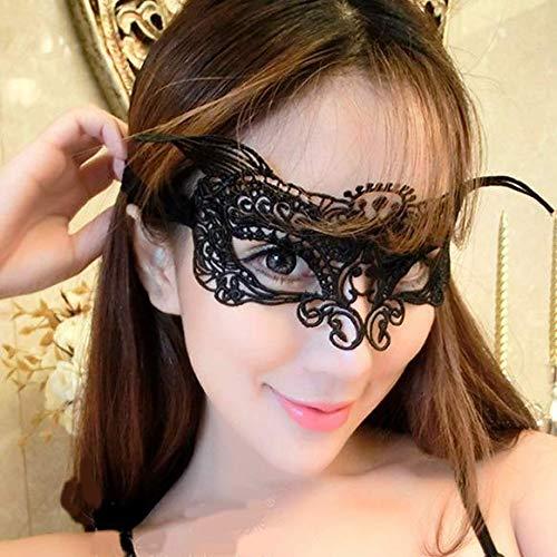 Losuya Sexy Frauen Lace Mask Masquerade Venezianischen Eyemask Lady Girls Augenmasken Halloween Karneval Party Kostüm Ball Gefälligkeiten, Modell ()