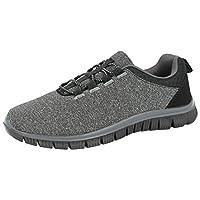 Cushion Walk Ladies Memory Foam Mesh Flexi Slip On Casual Sports Gym Running Go Shoes Pumps Trainers Size 3-8 (UK 8/ EU 41, Dark Grey/Black)