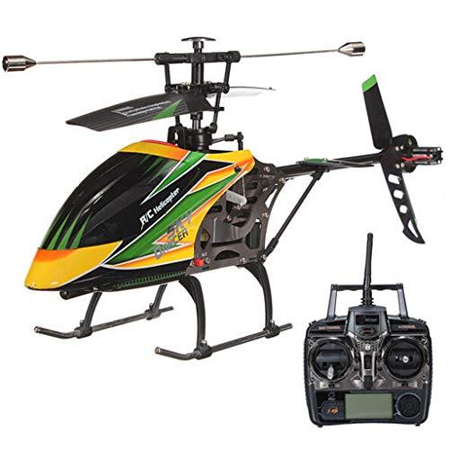 WLtoys V912 4CH Mini Helicopter, Radio Remote Control Aircraft 2,4 G RTF Flugzeug 4 Channel, Single Blade RC Hubschrauber mit Licht für Kinder Erwachsene, Flugzeit: 7-8Min Flugentfernung: 100-120m