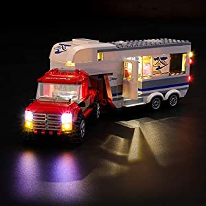 LIGHTAILING Set di Luci per (City Pickup e Caravan) Modello da Costruire - Kit Luce LED Compatibile con Lego 60182 (Non… 0716852281206 LEGO
