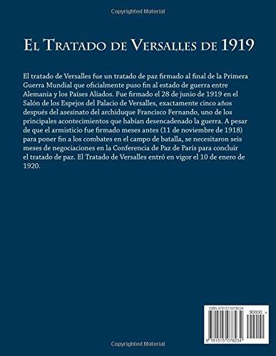 El Tratado de Versalles de 1919