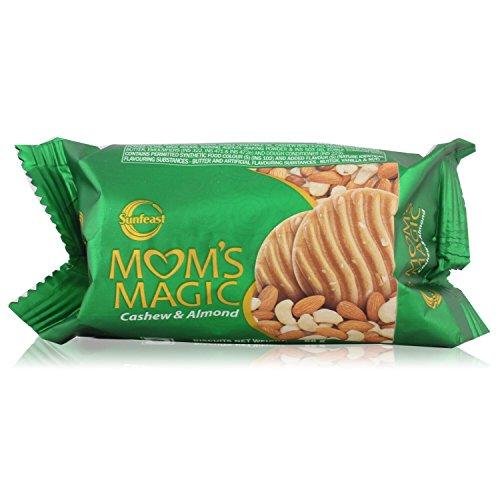 Sunfeast Mom's Magic Biscuit - Cashew & Almond, 60g Pack