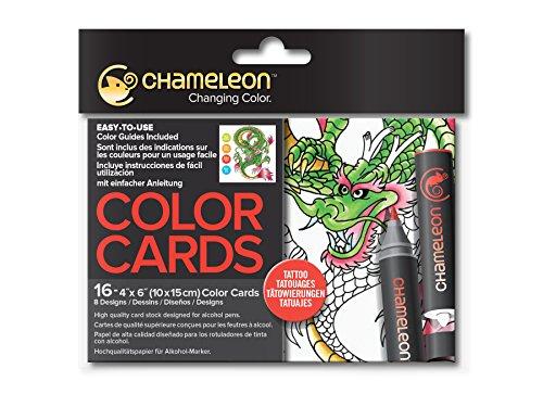 Chameleon Motivkarten - Tattoo