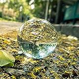 DOXMAL K9 Kristallkugel Glaskugel Fotografenqualität Glaskugeln Klarer Kristallball Künstliche Dekoration Art für Fotografie Weihnachten Geschenk(80mm)