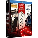 Coffret 3 films : french connection ; heat ; usual suspects [Blu-ray]