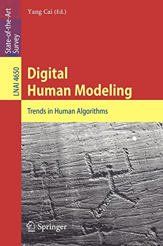 Digital Human Modeling: Trends in Human Algorithms (Lecture Notes in Computer Science / Lecture Notes in Artificial Intelligence) -
