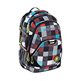 Coocazoo 138708 Rucksack 'EvverClevver2' Checkmate Blue Red