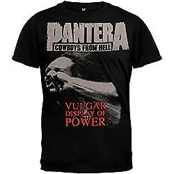 Pantera Stronger Than All de dos lados para adultos negro camiseta