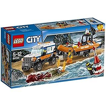 LEGO 60165 - City Coast Guard, Unità di Risposta con il Fuoristrada 4X4