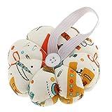 Sharplace Tragbare Kürbis Nadelkissen Patchwork Kissen für Nadeln Steknadeln Nadelhalter - Multi1, 9*9*4cm
