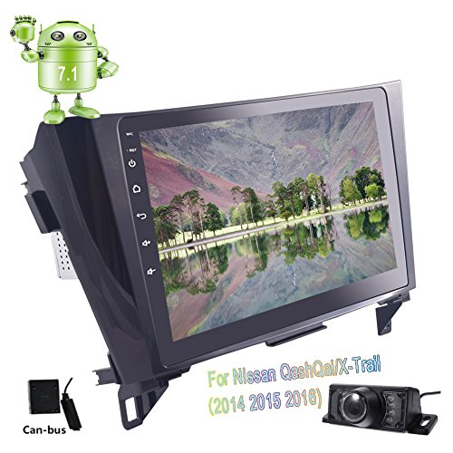 Rückfahrkamera inklusive! EinCar Autoradio mit GPS Navigation 10,1 Zoll Multi-Touch-Screen-Unterstützung Bluetooth Autoradio WiFi 4G FM AM RDS Radio-Screen-Mirroring SWC CAN-Bus für Nissan Qashqai / Touch-screen-bluetooth