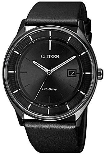 Citizen Reloj Analógico para Hombre de Cuarzo con Correa en Cuero BM7405-19E