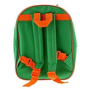 51nDJ9BNWAL. SS300  - Peppa Pig George Mochila Bolsas y accesorios Material sintético Niños Bolsas Verde/Multi