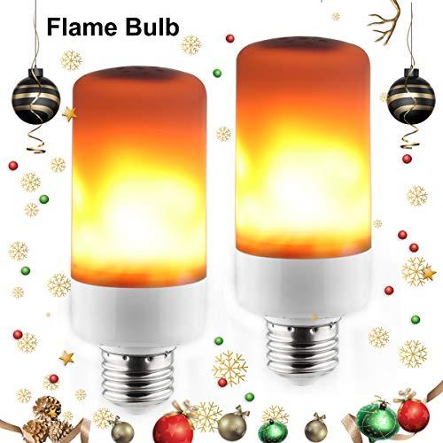Flammen Lampe 2 X 5W E27 LED Flamme Effekt Glühbirne 3 Modi Flackernde Wirkung Feuer Glühbirnen für Weihnachten, Bars, Haus, Festival Dekoration