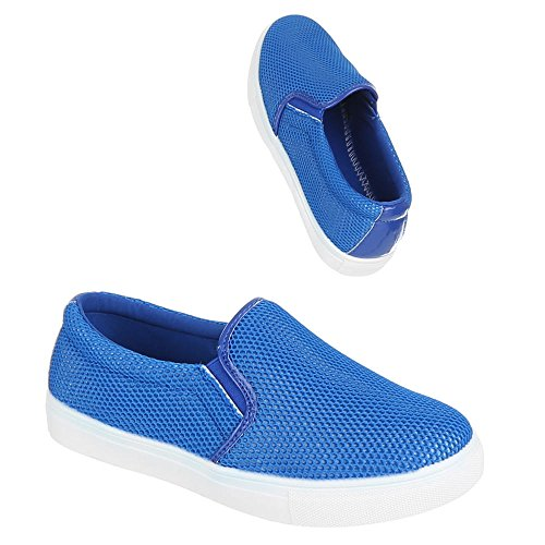Ital-design - Chaussons Femme Bleu (bleu)