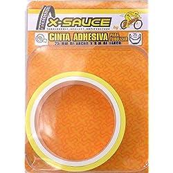 X-Sauce MTB Cinta para tubelizar, Amarillo, 25 mm