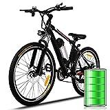 Bunao 26 inch Wheel Electric Bike Aluminum Alloy Frame 36V 8AH Lithium Battery