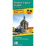 Radwanderkarte Römer-Lippe-Route, Detmold - Xanten: wetterfest, reißfest, abwischbar, GPS-genau, Leporello-Falzung, 1 : 50000