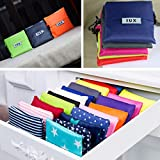 Qewmsg Fashion Foldable Design Nylon Shopping Bag Eco-Friendly Reusable Handle Bag