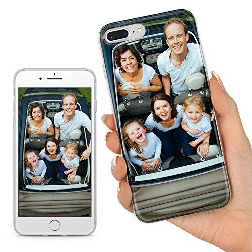 TULLUN Personalisierte Individuelle Ihr Eigenes Bild Foto Brauch Soft Gel Schutzhülle Handy Hülle für iPhone Modelle - Ihr Eigenes Design - für iPhone 6 / 6s - Handy-foto