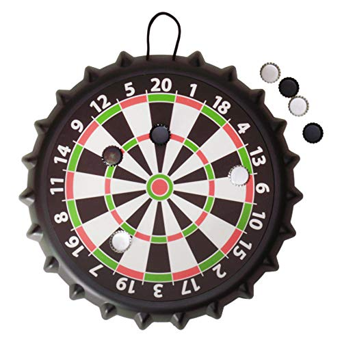 trendaffe Kronkorken Darts Trinkspiel - Darts - Kronkorken Saufspiel Partyspiel
