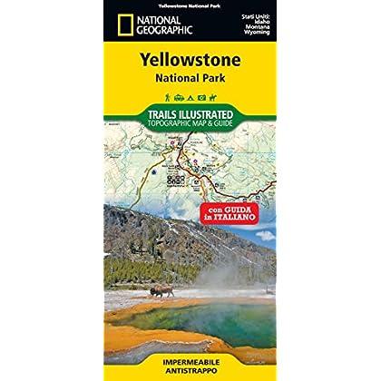 Yellowstone National Park. Carta E Guida Turistica. 1:125.000