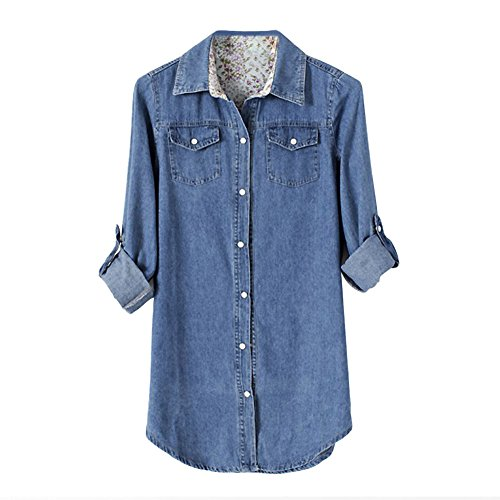 chnli-fashion-womens-long-sleeve-denim-blouse-office-lady-t-shirt-lapel-slim-tops-casual-jean-jacket