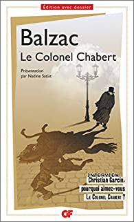 Le Colonel Chabert par Honoré de Balzac