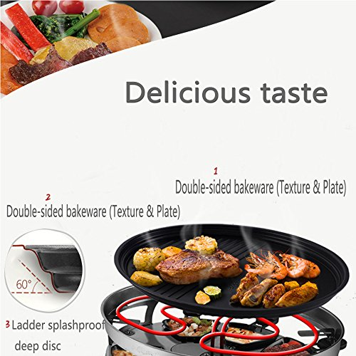 Electric Grill Home Smokeless Korean Barbecue Grill Grill Electric Smokeless Indoor Grill
