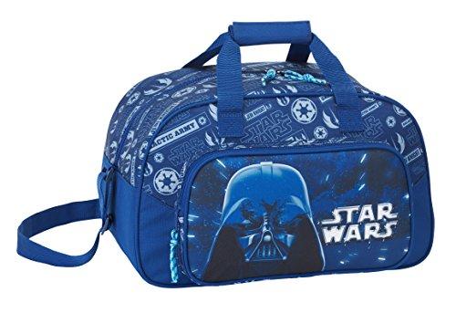 b76f143e Star Wars 2018 Bolsa de Deporte Infantil, 40 cm, 22 litros, Azul Marino