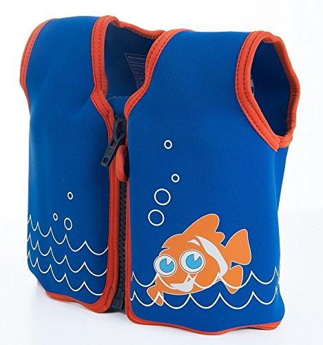 Konfidence Die Original Unisex-Kinder Schwimmweste, Mehrfarbig (Scoot The Clownfish), 18 monate-36 Monate