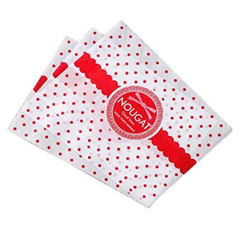 Süßigkeiten Making Packaging Wrapper Nougat/Toffee Twisting Wachspapiere Hochzeit Bevorzugungen, 05