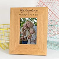 Personalised 'The Adventures of...' Photo Frame / Couples Gifts / Travel Gifts / Adventure Gifts / Personalised Mothers Day Gifts for Mum and Me
