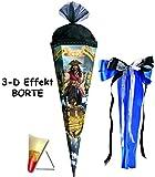 3-D Effekt - Schmuckborte _ ! - Schultüte -