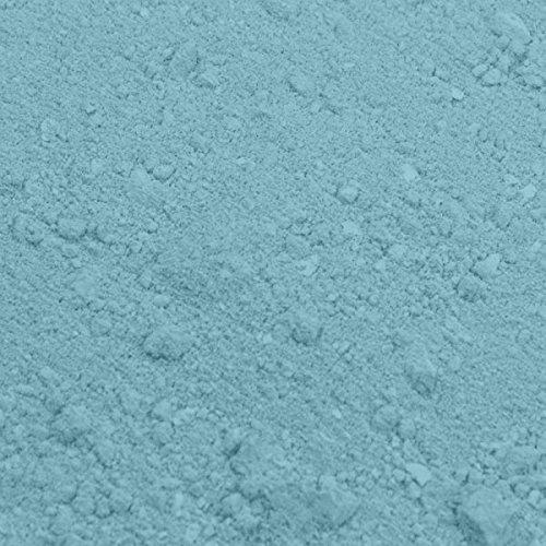 PLAIN & SIMPLE - BABY BLUE / BLAU - Essbare Pulverfarbe Deko - Rainbow Dust + Ausstechform (Bundle)